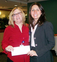 Auxiliary Volunteers Donate $15,000